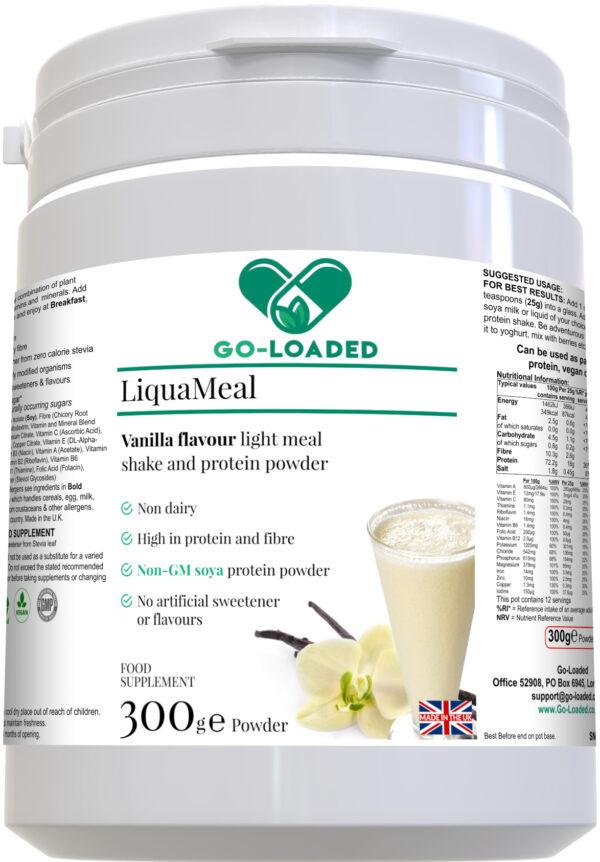 liquameal vanilla front bottle