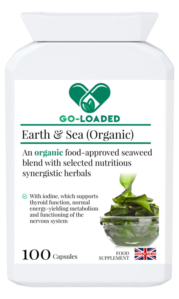 earth and sea organic front label
