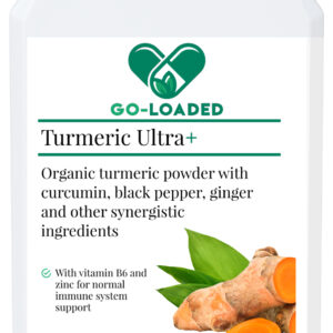 front label for turmeric ultra+